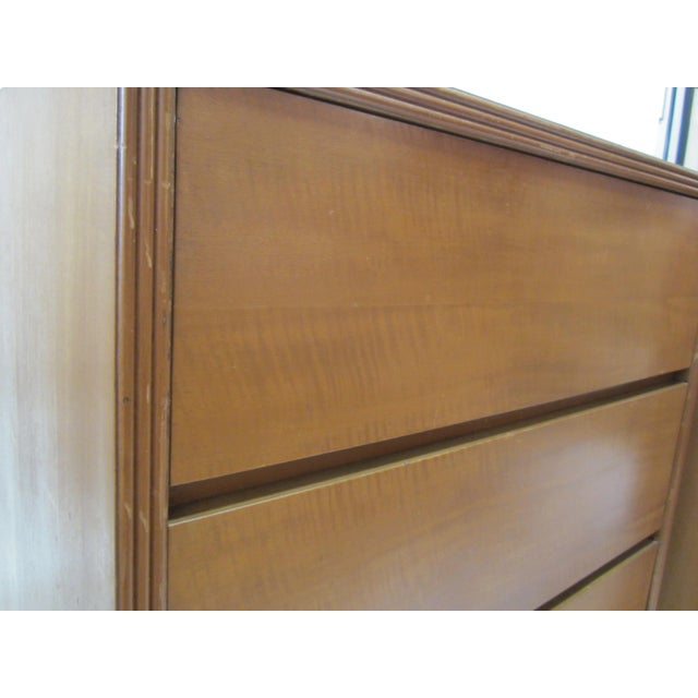 Flared Leg Chests of Drawers - A Pair - Image 4 of 10
