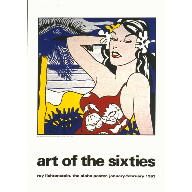 1993 Aloha, from Art of the Sixties Poster by Roy Lichtenstein - Image 1 of 2