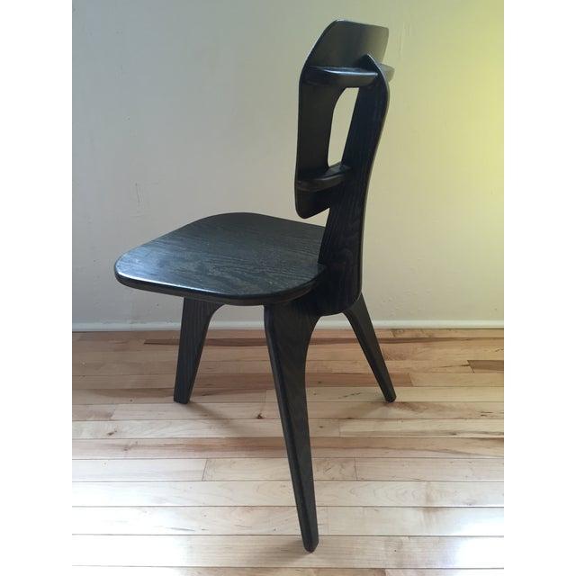 Arthur Collani Vintage 3-Legged Chair - Image 3 of 6