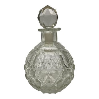 Antique Cut Crystal Scent Bottle