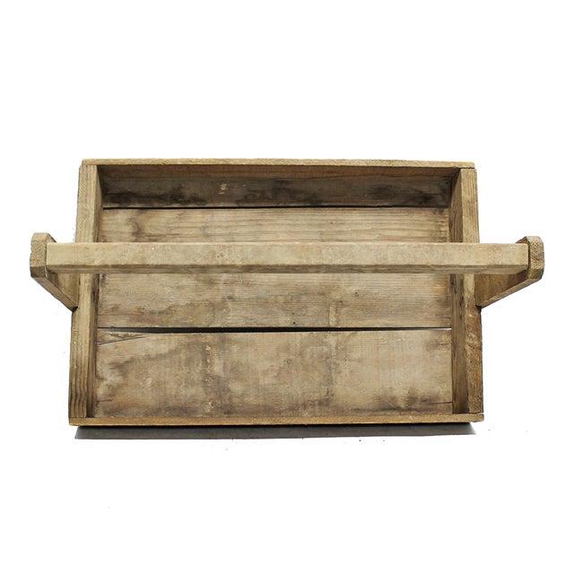 Rustic Wood Handled Pannier - Image 3 of 4