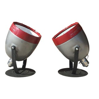 Kodak Dark Room Lamps - a Pair