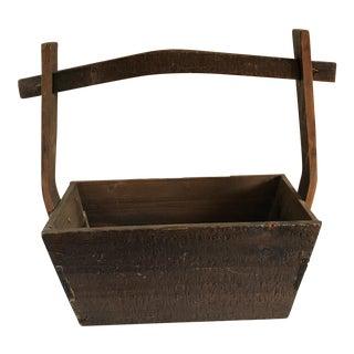 Primitive Rustic Wood Box