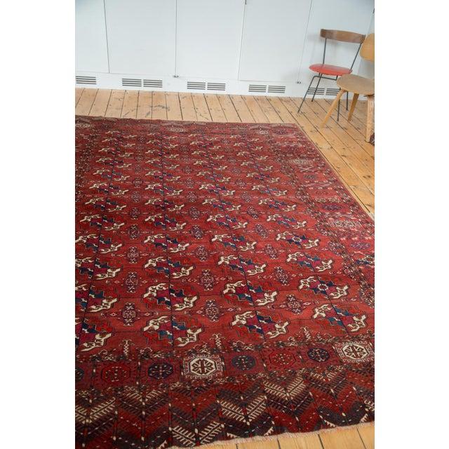 "Antique Tekke Bokhara Carpet - 6'11"" X 10' - Image 4 of 10"