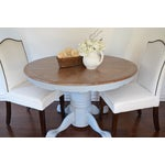 Image of Chalk Painted French Country Dining Table
