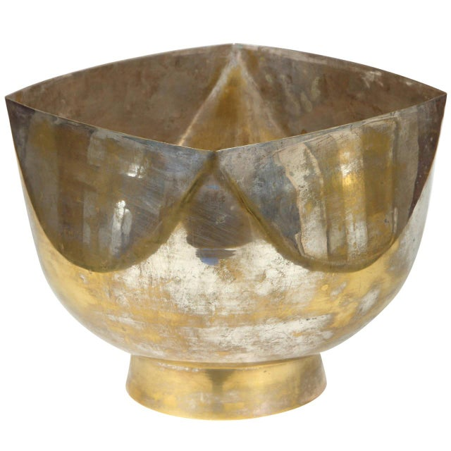 Ward Bennett Silver Footed Bowl - Image 1 of 6