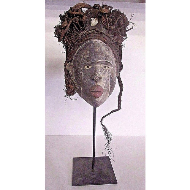 Antique Punu African Tribal Mask - Image 2 of 10