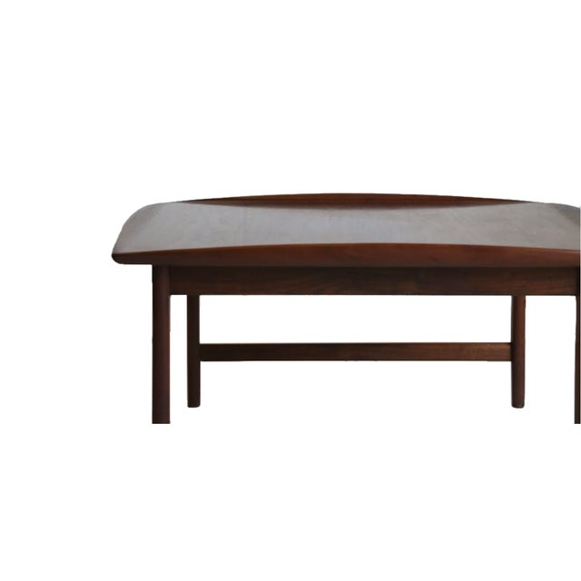 Danish Mid Century Modern Teak Coffee Table