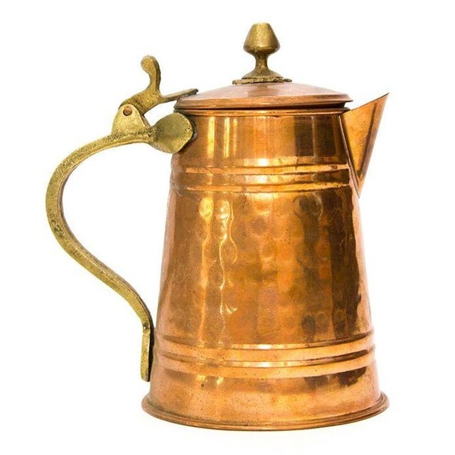 Turkish Copper Tea Kettle - Image 1 of 5