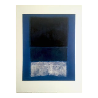 "Mark Rothko Original Abstract Expressionist Lithograph Print Poster "" No. 14 "" 1957"