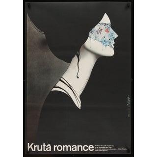 """""""Ruthless Romance"""" 1984 Czech Film Poster"""