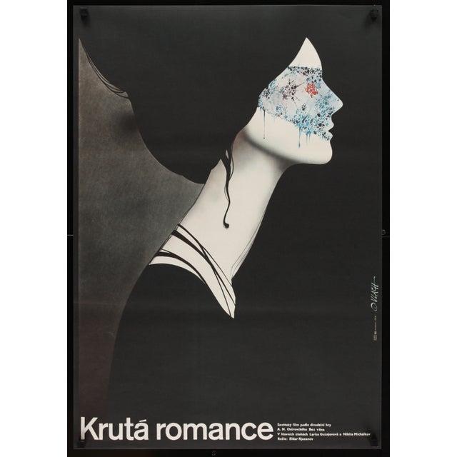 "Image of ""Ruthless Romance"" 1984 Czech Film Poster"