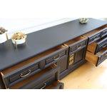 Image of Mid Century Modern Black Dresser