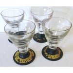 Image of French Pernod Glasses, Set of 4