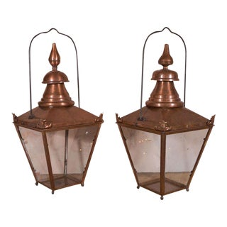 French Copper Lantern