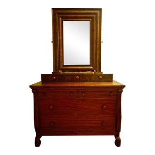Berkey & Gay Dresser With Mirror