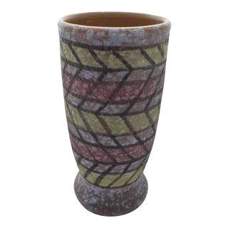 Mid-Century Italian Art Pottery Vase