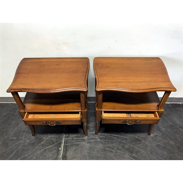 Davis Cabinet Co French Provincial Nightstands - A Pair - Image 6 of 11