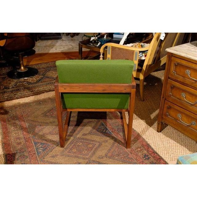 Mid-Century Modern Teak Arm Chair - Image 2 of 2