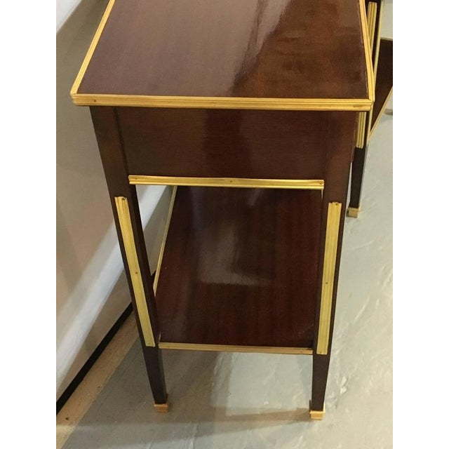 Russian Style Bronze Mounted End Tables - A Pair - Image 6 of 8