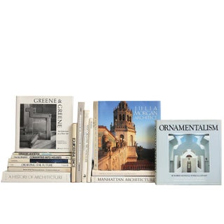 Architecture in White - Set of 15