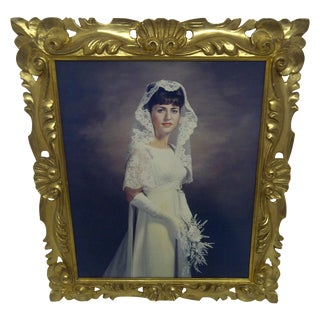 """Beautiful Bride"" Painted Photograph by Jonas"