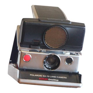 Vintage Polaroid SX-70 Sonar Camera