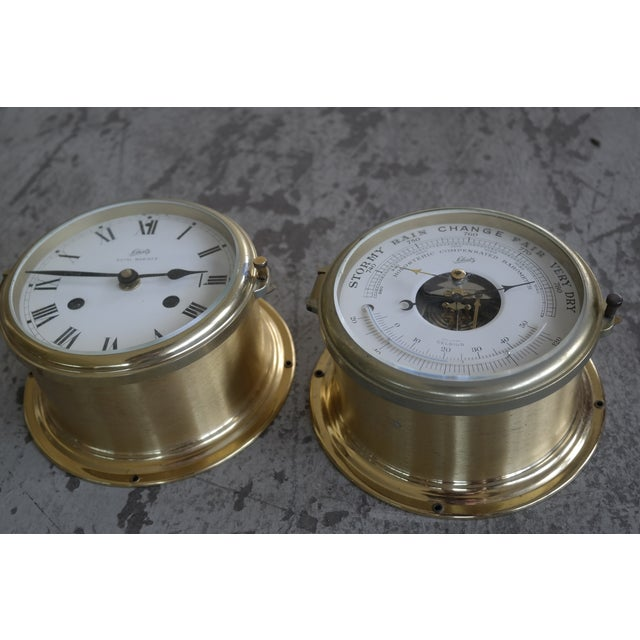 Image of Schatz Maritime Clock and Weather Station
