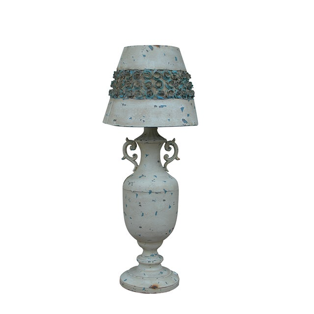 Nostalgia Rose Shade Lamp - Image 1 of 5