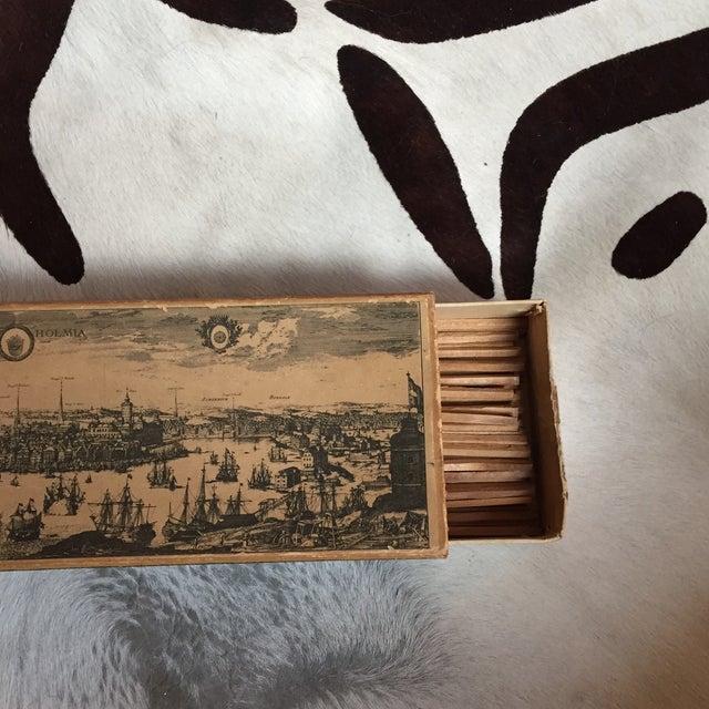 Image of Vintage Swedish Match Box Set