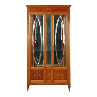 Edwardian Glass Display Cabinet