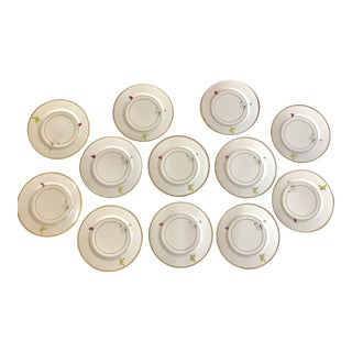 Alberto Pinto Filet a Papillons Dinner Plates - Set of 12