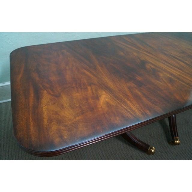 Image of Maitland-Smith Large Flame Mahogany Dining Table