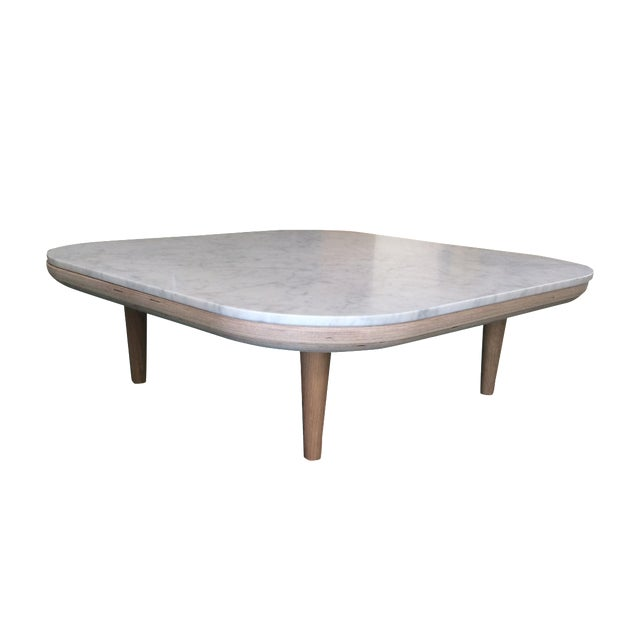 Carrara Marble Top Coffee Table Chairish
