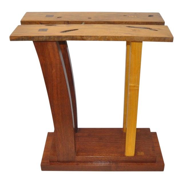 Dia Ates Hardwood Pedestal - Image 1 of 8