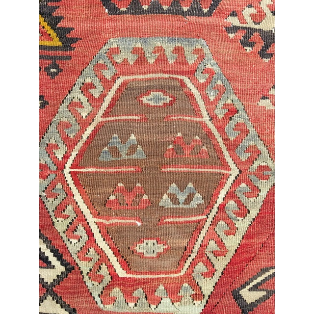 "Bellwether Rugs Vintage Turkish Kilim Rug - 8'3"" x 10'8"" - Image 8 of 11"