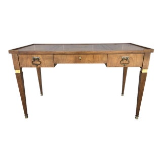Baker Furniture Walnut Desk