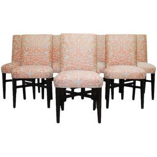 Fortuny Corone Upholstered Dining Chairs - Set of 8