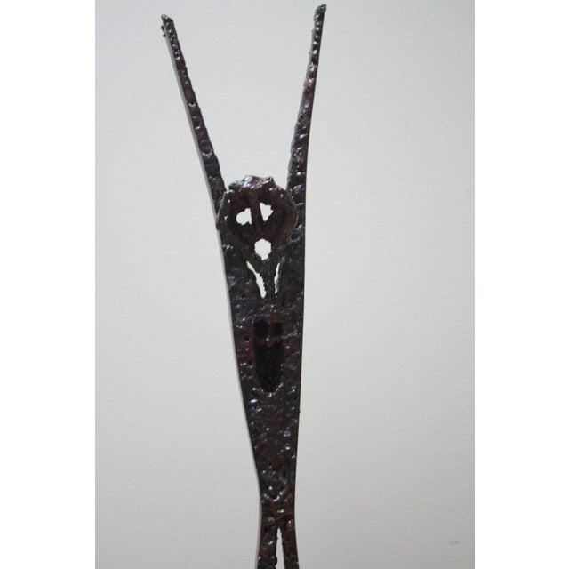 Brutalist Abstract Modern Sculpture - Image 3 of 5