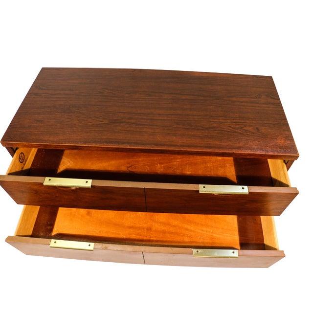 Mid century Kent Coffey Walnut Tall Dresser - Image 3 of 10