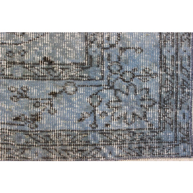 Vintage Overdyed Turki̇sh Rug - 5′8″ × 9′4″ - Image 6 of 8