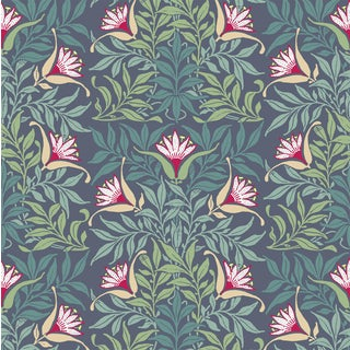 Flower Vine - Wallpaper Remnant