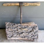 Image of Rustic Iron & Wood Hay Hook