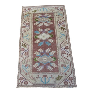 Oriental Turkish Rug - 2.7' x 4.5'