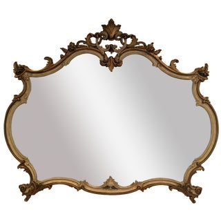 French Provincial Wall Mirror