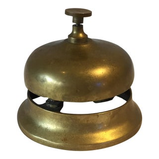 1950s Brass Hotel Reception Bell