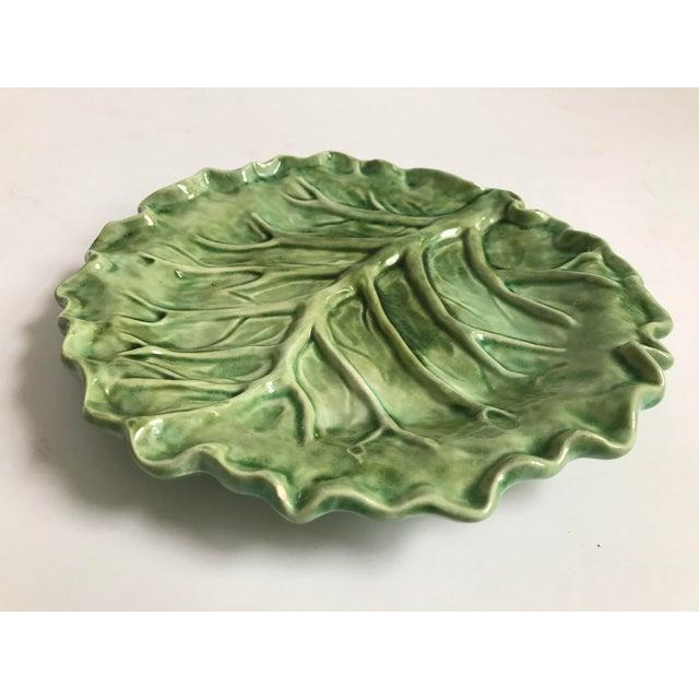 Cabbage Leaf Serving Plate - Image 3 of 8