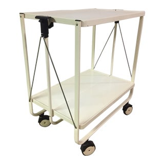German Modern Folding Bar Cart