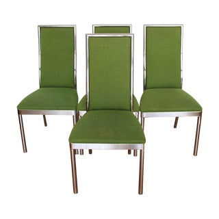 Chrome Dining Chairs - Set of 4