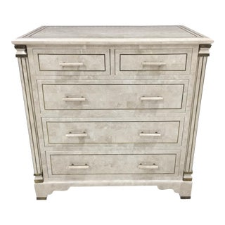 Maitland-Smith Tessellated Stone Chest